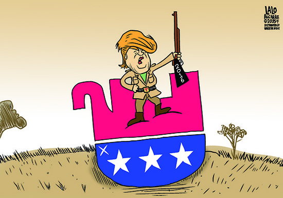 Trump killing gop elephant